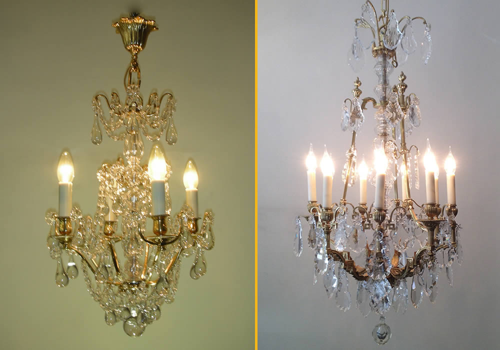 victorian chandeliers from france