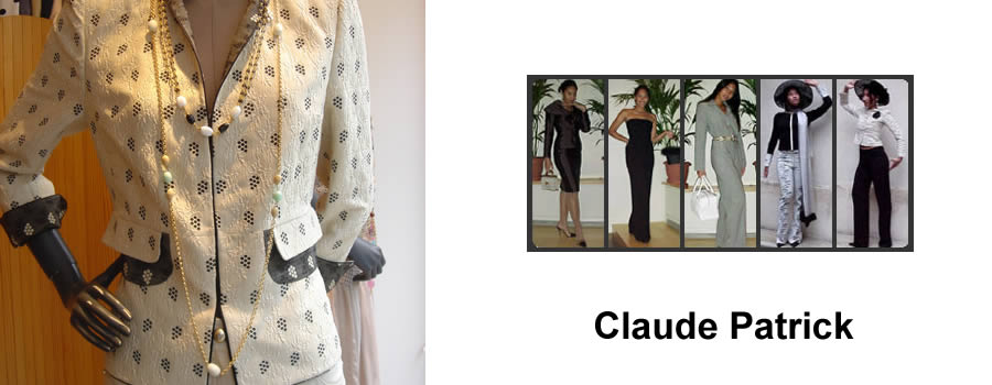 Claude Patrick High fashion and haute-couture