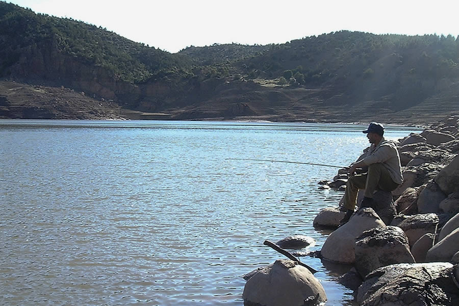 Ait Aadel and the Moulay Youssef Dam